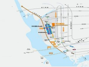 会展湾东城位置图
